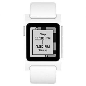 Pebble 2 + Coronary heart Charge Sensible Watch (White/White)