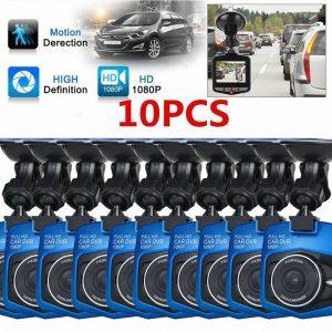 """10 x 2.four""""Automobile DVR Automobile Digital camera Video Recorder Full HD 1080P Sprint Cam G-sensor M"""
