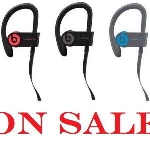,Beats by Dr. Dre Powerbeats three Wi-fi Bluetooth Headphones + Equipment