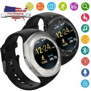 Bluetooth Sensible Watch Telephone For Samsung Galaxy S8 J5 J7 LG Tribute Stylo K8 K7
