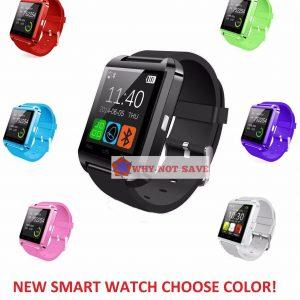 Bluetooth Wi-fi Good Wrist Watch Telephone For Samsung S3 S4 S5 S6 Edge S7 S8