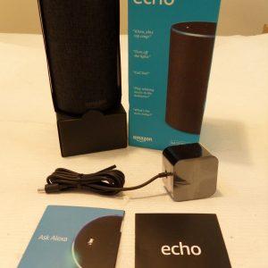 * NEW OPEN BOX * Amazon Echo 2-Manner Sensible Speaker 2nd Technology - Charcoal