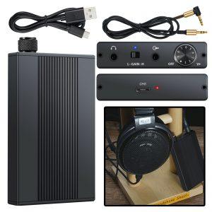 16-500Ω HiFi Earphone Amp Headphone Amplifier Match Sony XBA-A3 Sennheiser HD650