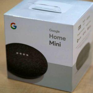 Google House Mini Charcoal Black Good Small Speaker Model New in Sealed Field