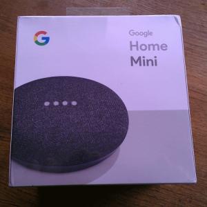 *** SEALED *** Google House Mini Sensible Speaker - Charcoal