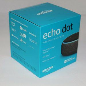 (Sealed) NEW Amazon Echo Dot (third Era) Good Speaker - Charcoal