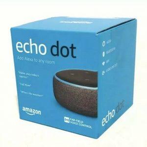 Amazon Echo Dot third Era w/ Alexa Voice Media System - Charcoal -