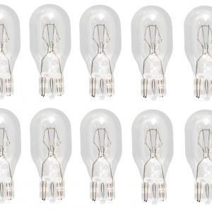 (Pack of 10) 921 Mild Bulb Auto Automotive Miniature Alternative Lamp 12v T5 Lot