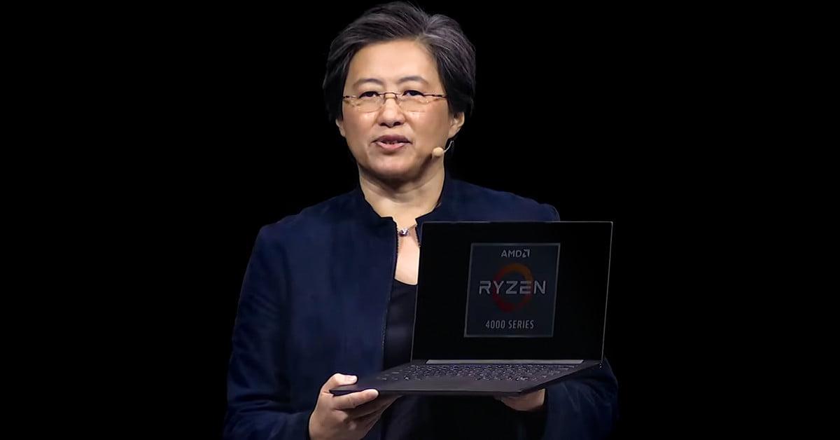 AMD's Ryzen four Laptop computer Beats Intel Desktop Chip in Leaked Benchmark